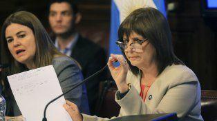 Bullrich defendió la no separación preventiva de los gendarmes