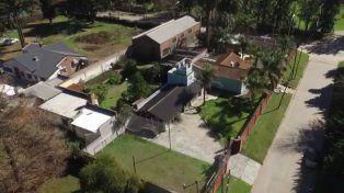 La casa que la Justicia le secuestro al líder narco y que ahora pasará a manos de una ONG.