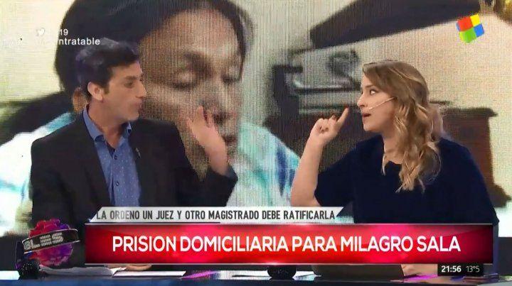 Intenso debate en Intratables por la prisión domiciliaria de Milagro Sala