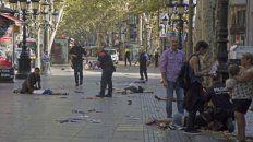 las redes fueron invadidas por videos que muestran el criminal atentado en barcelona