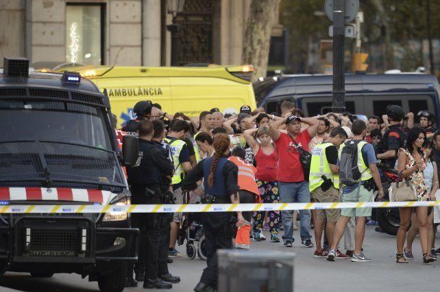El ataque de hoy ocurrió en una de las zonas más turísticas de Barcelona.
