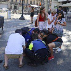 Dos argentinos resultaron heridos durante el atentado de Las Ramblas de Barcelona