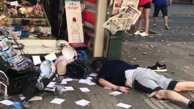 Barcelona, golpeada por el terrorismo en imágenes