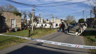 La colisión se registró esta mañana en Italia y Brandoni, en la zona sur de la ciudad.