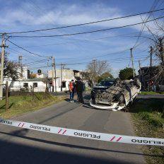 La colisión se registró en Italia y Brandoni, en la zona sur de la ciudad.