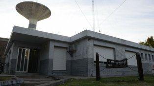 La comisaría 6ª de Roldán, donde el joven confesó que había asesinado a su novia.