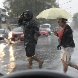 La tormenta podría llegar a la madrugada en Rosario y la zona, según el Servicio Meteorológico Nacional. (Foto de archivo)