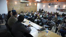 La capacitación docente estuvo a cargo de la secretaría de Derechos Humanos de la provincia.