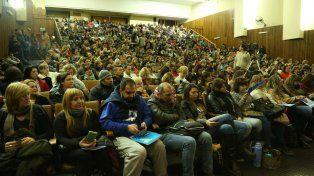 Más de 750 docentes participaron en Rosario de un programa de formación político, sindical y pedagógico.