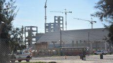 Desde afuera. La planta de Renova, en Timbúes, donde se produjo el accidente fatal.