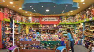 Mundo infantil. Un local ubicado en un shopping rosarino.