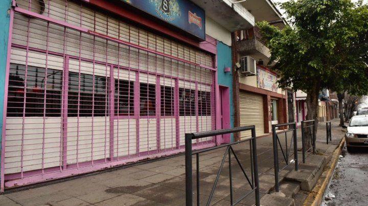 El bar y pool donde ocurrió el hecho. El policía estaba de civil y sería amigo del dueño.