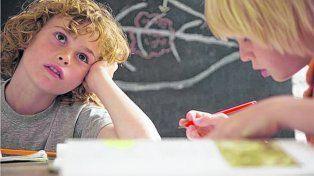 Con o sin hiperactividad. Hay chicos que no paran de moverse, otros no pueden concentrarse bien.