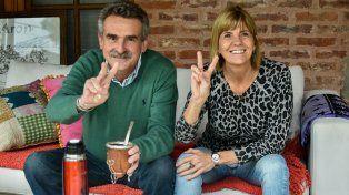 Agustín Rossi y Alejandra Rodenas convocaron a los santafesinos a apoyar el proyecto del Frente Justicialista.