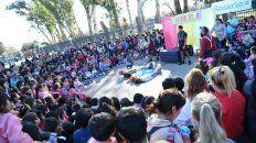 el triptico de la infancia y el colectivo hoy seran gratis por el dia del nino