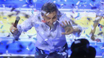 festejo anticipado. Fue una imprudencia política que Macri celebrara la victoria en provincia de Buenos Aires sin tener números finales.