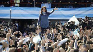 Confianza. Cristina Fernández se declaró ganadora de las Paso.
