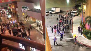 Primeras imágenes. El interior y el exterior del Dolphin Mall de Miami.