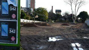 Se viene un nuevo parque paralelo a las vías donde había casillas precarias
