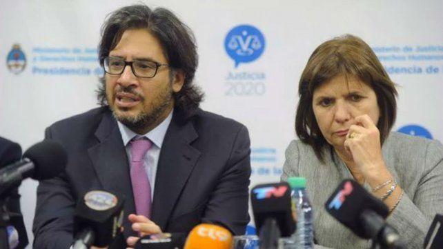 Garavano respaldó a Bullrich por el caso Maldonado y pidió respetar la investigación judicial
