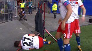 Se lesionó en el festejo de su gol y se quedará siete meses sin pisar las canchas