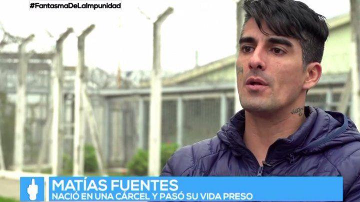 La historia de Matías Fuentes que nació preso y pasó más de 20 años en distintas cárceles