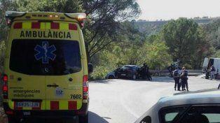 la policia abatio al terrorista senalado como el autor del atentado en barcelona