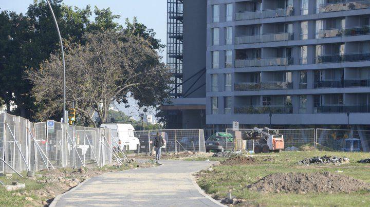 El municipio explicó que el Parque de la Arenera no se terminó por dificultades con la empresa