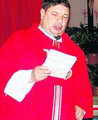 El sacerdote imputado.