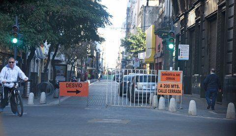 sólo vecinos. Sarmiento estará cerrada desde Santa Fe a San Luis