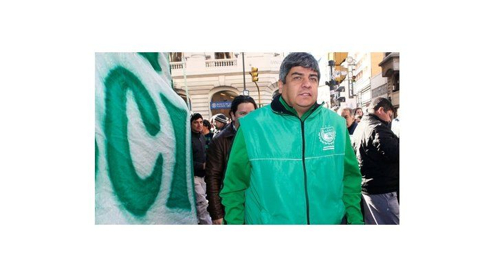 impulsor. Pablo Moyano (Camioneros) es uno de los dirigentes que viene instando a una huelga general.