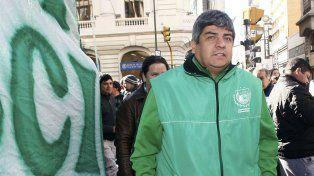 El líder camionero, Pablo Moyano.