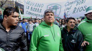 El dirigente de Camioneros, Pablo Moyano, disparó contra el gobierno nacional.