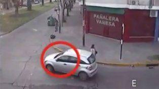 Un video muestra cómo huyó el conductor que mató a una nena de 8 años