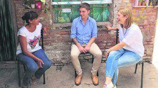 Fiel al estilo de Cambiemos, el dirigente sastrense visitó durante la campaña a los vecinos de la ciudad.
