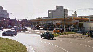 Ocurrió en la confitería de una estación de servicio de avenida Constitución y la costa.