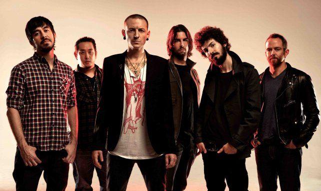 La banda con Chester Bennington