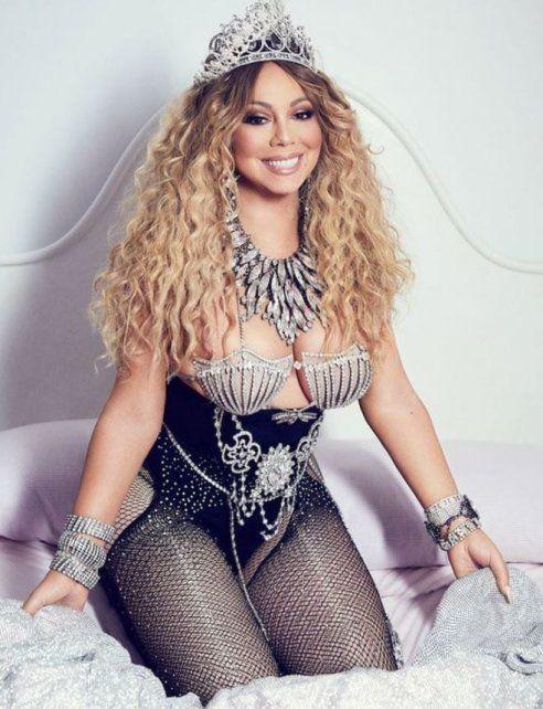 Las provocativas fotos de Mariah Carey que despertaron halagos y críticas por los retoques