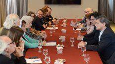 Garavano, en la reunión con organismos de derechos humanos.