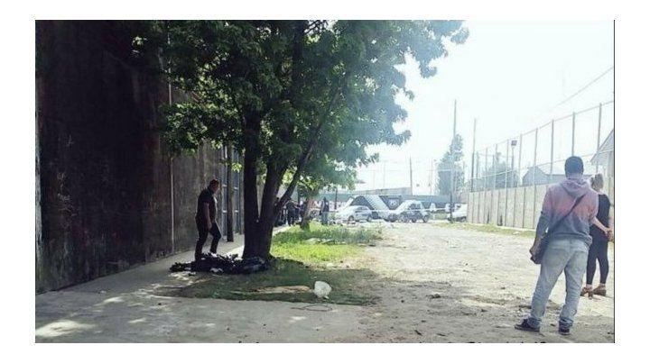 El lugar donde se produjo la balacera. Fue el 10 de diciembre pasado.