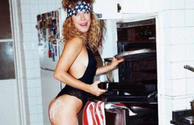 La broma llegó lejos y ahora Anita Pauls sueña con que su foto sea tapa de Playboy