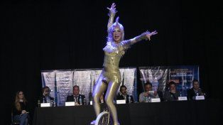Con un anticipo en vivo, el Cirque du Soleil hizo pie en Rosario por primera vez