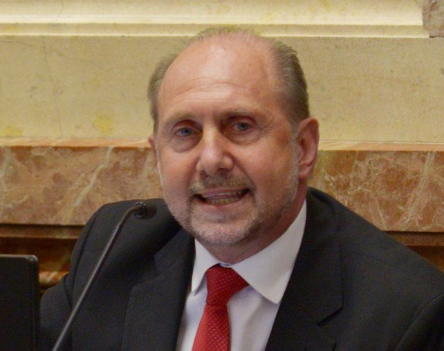 El senador peronista por Santa Fe