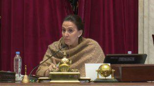 Tensión en el Senado cuando Michetti le cortó la palabra a dos senadores radicales