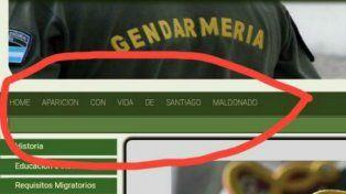 Hackearon la página web de Gendarmería con una leyenda sobre Santiago Maldonado