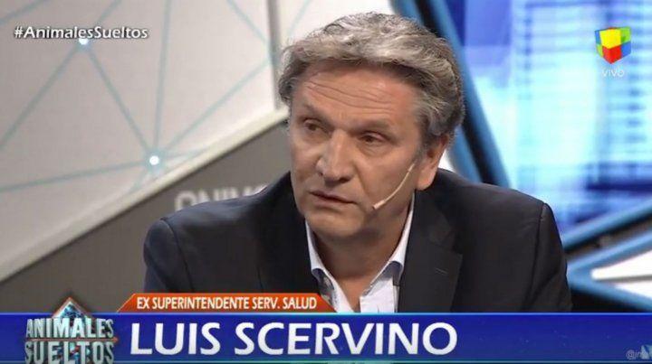 No soy militante del PRO, soy militante de la salud pública, aseguró Luis Scervino