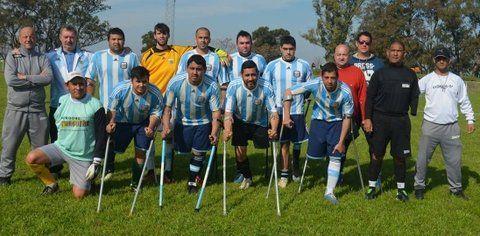 Llega a Rosario la selección de fútbol de amputados