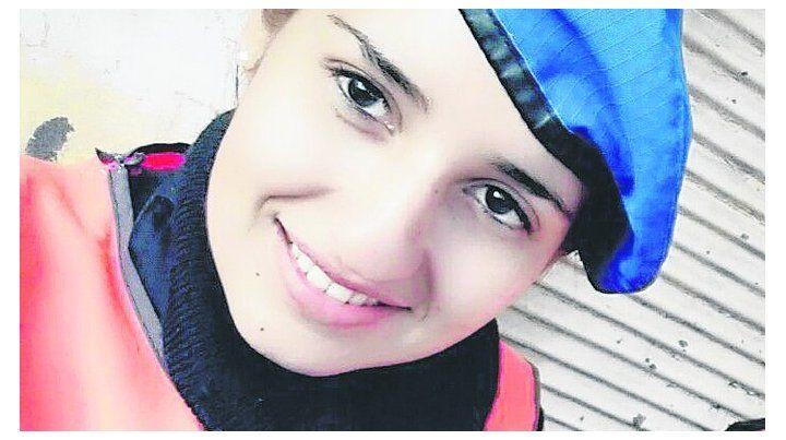 víctima. Yanina Rocío Giménez pertenecía a la Bonaerense.