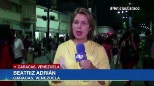 censurada. El reconocido canal colombiano informa sobre la crisis en la vecina Venezuela.