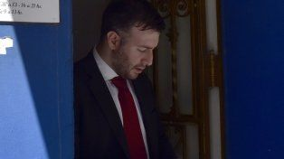 Rodrigo formalizó ayer su renuncia al cargo de fiscal.